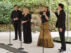 Concert met Vocal Chord @ Openluchttheater Valkenburg